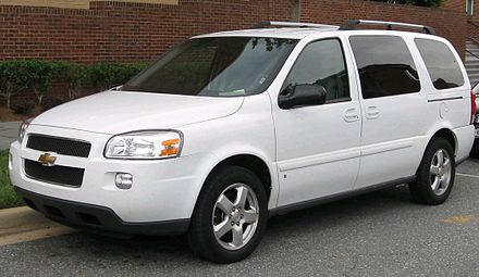 Chevrolet Uplander - Wikiwand
