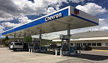 cheap for discount a5999 3c193 A Chevron gas station in Diamondville, Wyoming (taken on May 27, 2018).