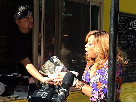 Television personality Wendy Williams previews the Chicago Food Truck Festival on Fox News in Chicago Chicago Food Truck Fest preview.jpg