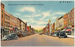 Chicago Street, looking west, Coldwater, Michigan (68042).jpg