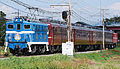 Chichibu Railway electric locomotive Paleo Express.JPG