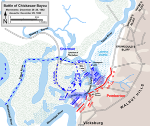 Battle of Chickasaw Bayou - Battle of Chickasaw Bayou.