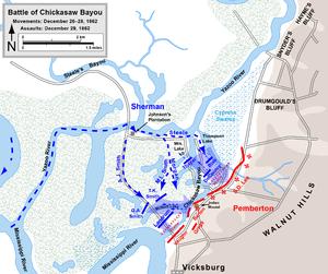 Battle of Chickasaw Bayou - Battle of Chickasaw Bayou.