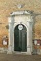 Chiesa di San Martino Vescovo Venezia portale notte.jpg