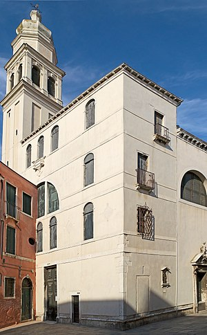 Sant'Antonin, Venice - Church and bell-tower