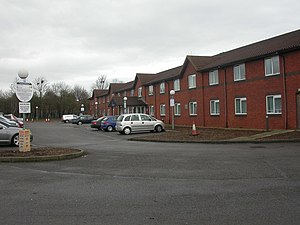 Chieveley services - Travelodge Hotel