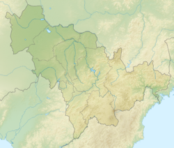 China Jilin relief location map.png
