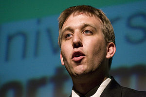 Chris Lintott - Chris Lintott speaking at Southern Illinois University Edwardsville in 2008