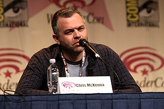 Community (TV series) - Chris McKenna on a Community panel at WonderCon 2012
