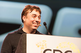 Chris Roberts (game developer) - Image: Chris Roberts GDC 2012