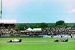 Christian Fittipaldi and Rubens Barrichello 1993 Silverstone.jpg