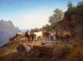 Christian Frederik Holm - Hyrdepar med deres køer - 1838.png