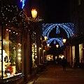 Christmas Lights in Rose Crescent - geograph.org.uk - 1609953.jpg