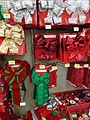 Christmas decorations in a store wreaths and bows 6.jpg
