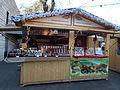 Christmas market 2015 Erzsébet Square. 'csokiss' handmade chocolates and Bio foods. - Budapest.JPG