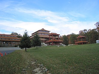 Kent, New York - The Chuang Yen Monastery (莊嚴寺) in Kent houses the largest indoor statue of Buddha in the Western Hemisphere.