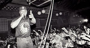 Public Enemy (group) - Chuck D. performing at Malmö in 1991.