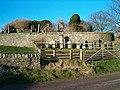 Church Ruins and Beehives - geograph.org.uk - 96776.jpg