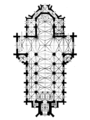 Church of Saints Olga and Elizabeth, Lviv (plan, M. Luzecki, proj. «Bez przesady»).png