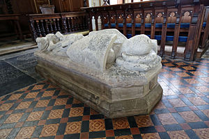 Robert de Vere, 3rd Earl of Oxford - de Vere effigy, St Mary's Church, Hatfield Broad Oak