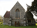 Church of St Mary Matching Essex England - chancel and transepts.jpg