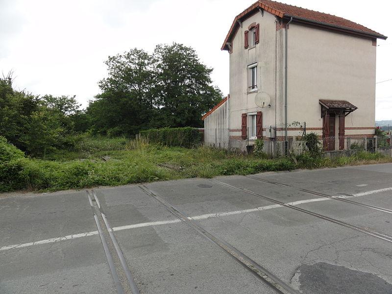 Ciry-Salsogne (Aisne) ancienne voie ferrée