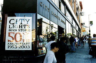 City Lights Bookstore - City Lights bookstore in July 2003.