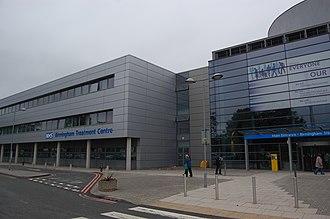 City Hospital, Birmingham - The Hospital's 'Birmingham Treatment Centre', in September 2013
