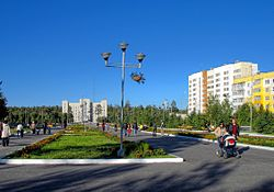 Noyabrsk city center