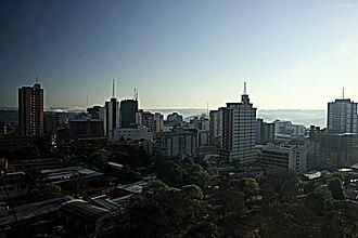 Ciudad del Este - April 2012 morning in Ciudad del Este