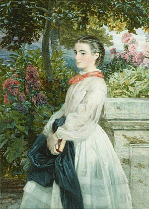 Clara Mordan - Clara Evelyn Mordan by unknown artist