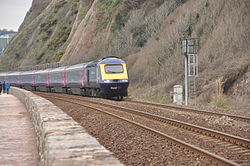 Class 43 on the sea wall at Teignmouth (0173).jpg