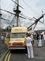 Classic Bedford Ice Cream Van within Portsmouth Dockyard - geograph.org.uk - 901990.jpg