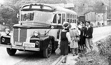 Un autobus degli anni '40