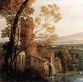 Claude Lorrain - Landscape with Dancing Figures (detail) - WGA05000.jpg