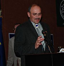 Click Bishop at 2008 Alaska AFL-CIO convention.jpg