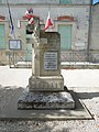 Clion, war memorial at the mairie.jpg