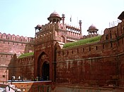 Lahori Gate, the Red Fort's main entrance