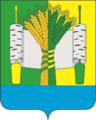 Coat of Arms of Beryozovskoe rural settlement, Ramonsky District.png