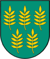 Coat of Arms of Skaistgirys.png