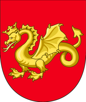 King of the Wends - Coat of arms of the King of the Wends. It is not to be confused with the similarly-looking symbol for Funen.