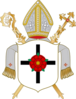 Coat of arms of Diocese of Erfurt.png