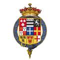 Coat of arms of George Keppel, 3rd Earl of Albemarle, KG, PC.png