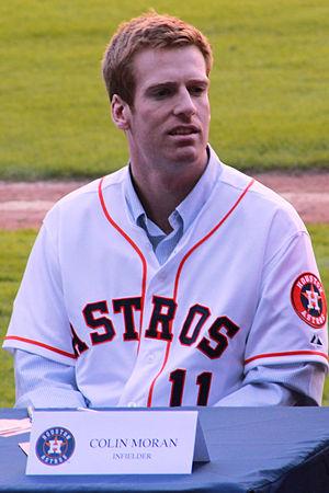 Colin Moran (baseball) - Moran in 2015 with the Houston Astros