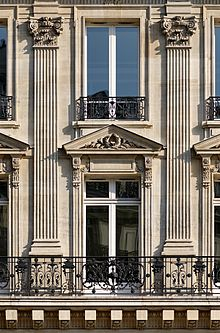 Pilastre wiktionnaire for Etymologie architecture
