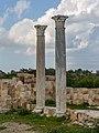 Columns in Roman gymnasium, Salamis, Northern Cyprus 06.jpg