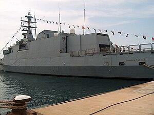 Comandanti-class patrol vessel - comandante Cigala Fulgosi Napoli, 2009