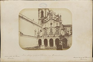 Antiga igreja de São Francisco em Pernambuco