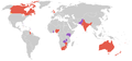 Commonwealth games 1954 countries map.PNG