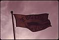 Company Flag in Front of the Headquarters of the Virginia-Pocahontas Coal Company near Richlands, Virginia, in the Southwestern Part of the State 04-1974 (3907177204).jpg